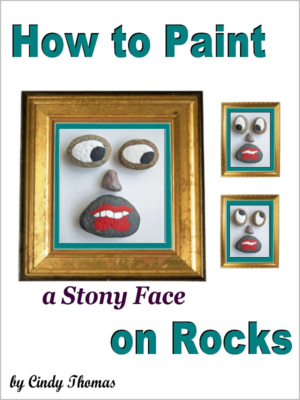 painted rocks, how to paint rocks, rock painting, Cindy Thomas