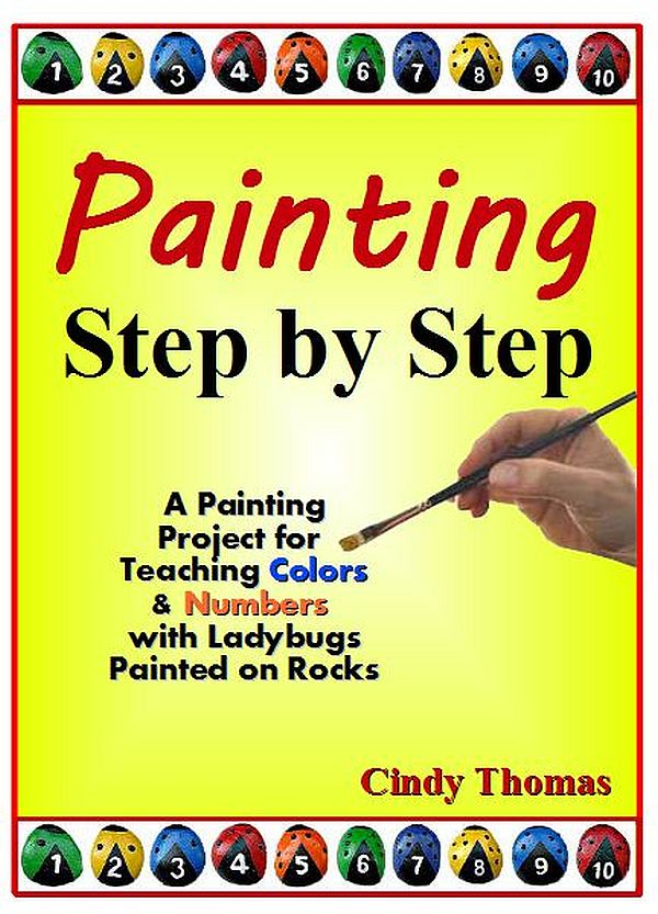Ladybugs Rock Painting Project